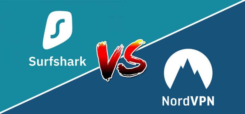 nordvpn ou surfshark