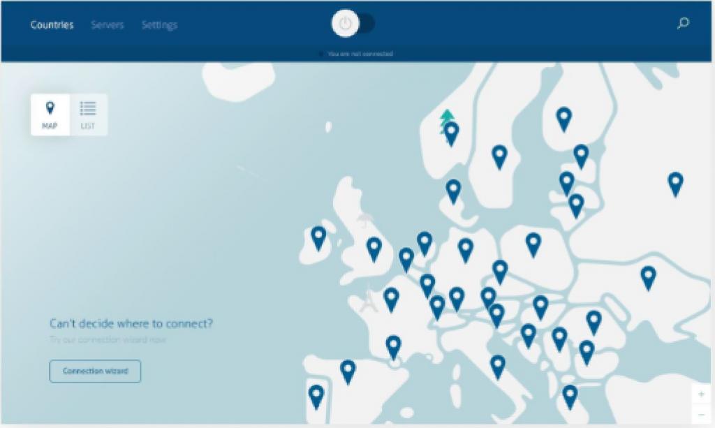 Nouvelle application NordVPN sur Windows10